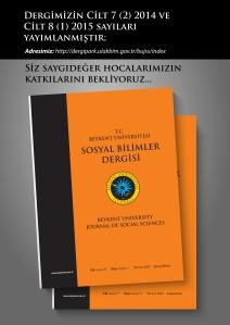 sosyal bilimler dergisi poster - a3